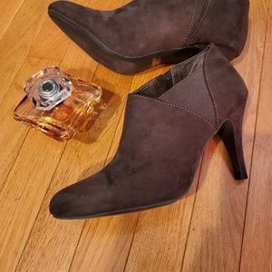 Suede Ankle Boots- Womens